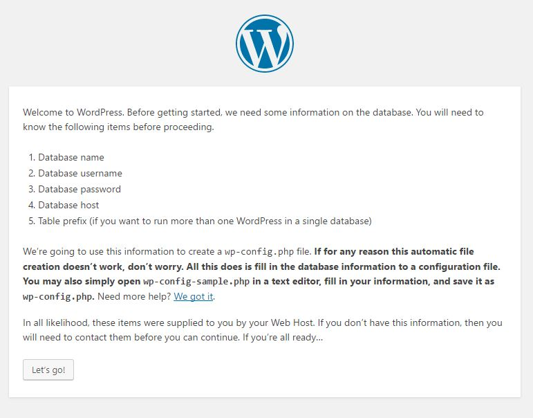 Instalar wordpress en un vps
