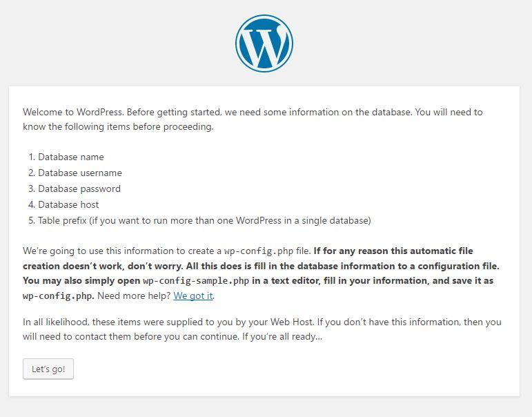 Instalar wordpress en un vps