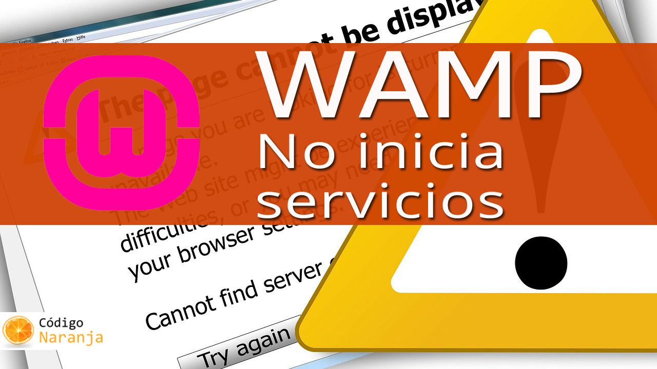 Wamp server no inicia servicios