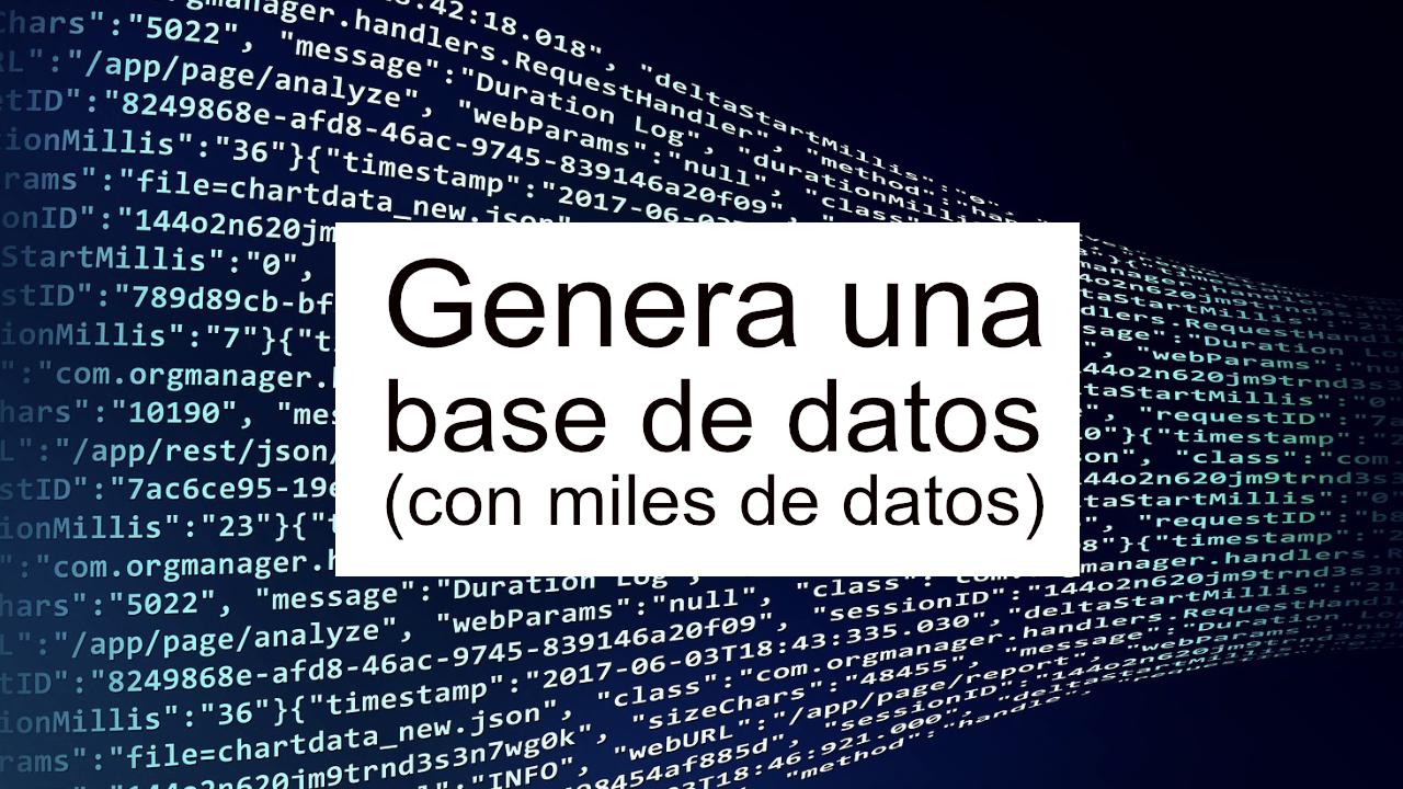 Como usar faker y php para generar datos