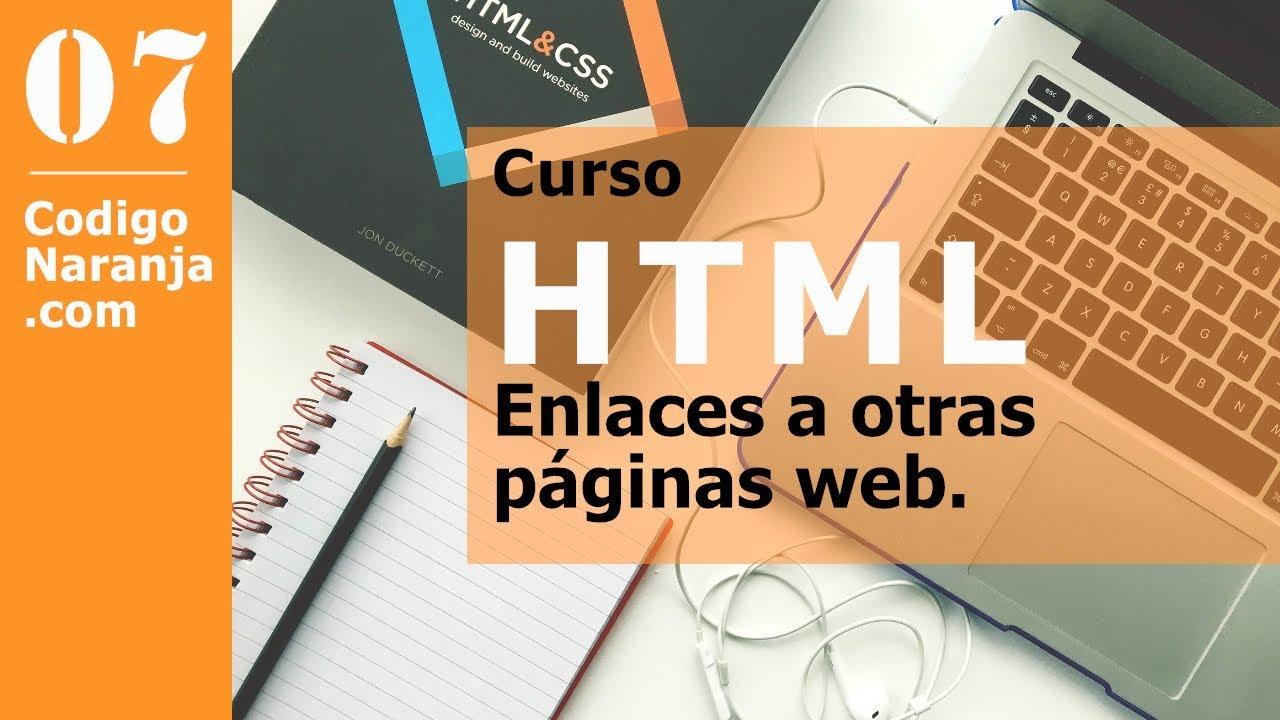 Curso html, enlaces