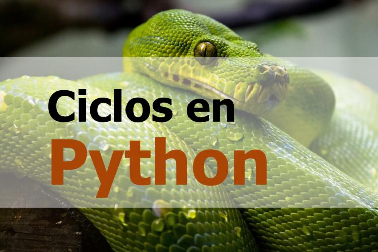 Ejemplo de ciclos en python